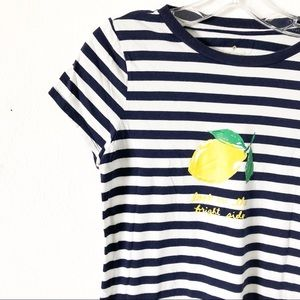 Kate Spade Look on the Bright Side Lemon Tee